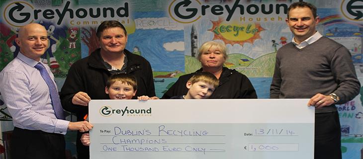 Ballyfermot Family are named as Dublin's Recycling Champions 2014