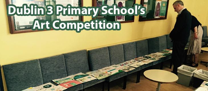 Dublin 3 Primary School's Art Competition