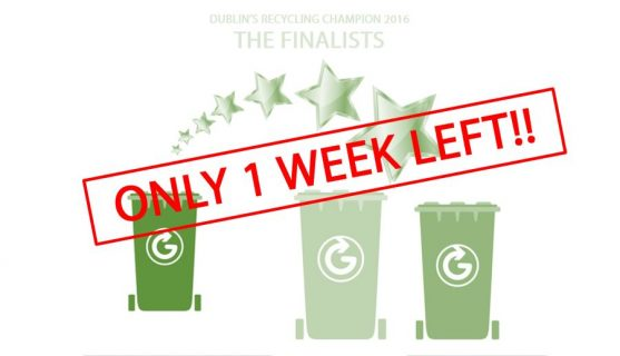 Recycling Champion 2016 - 1 week left