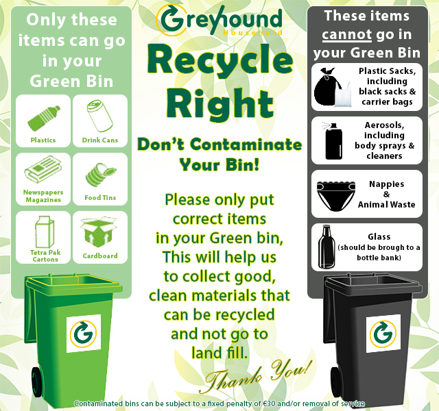 what can go into recycle bins
