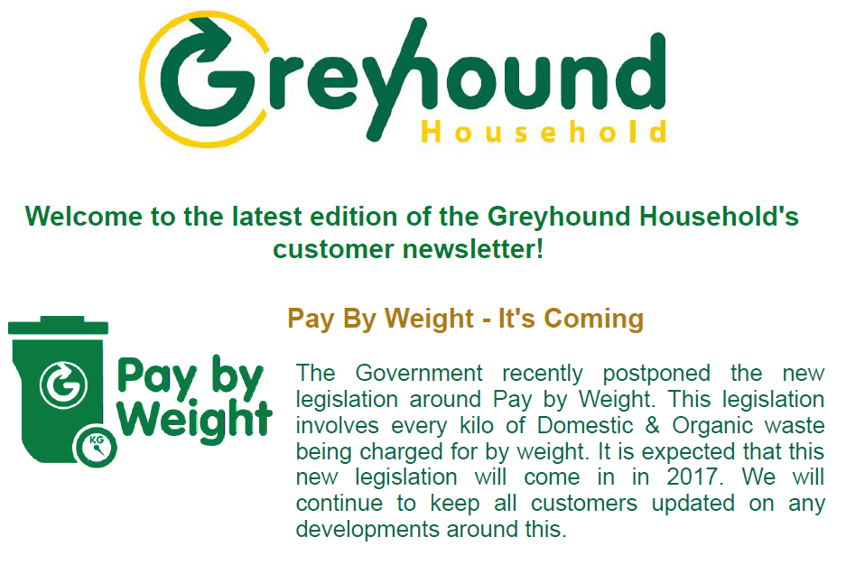 Newsletter, Customer Updates, Competitions, Special Offers