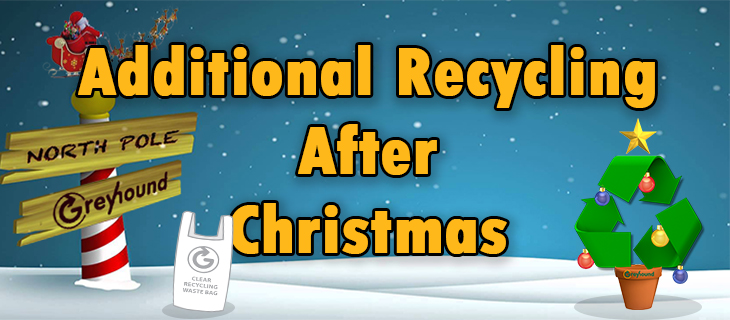 Extra Recycling After Christmas 2016