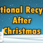 Free Recycling Bag for Christmas