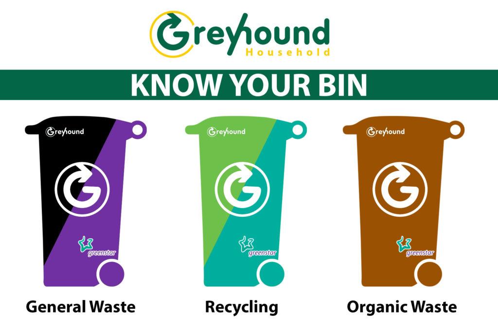 Greenstar to Greyhound, Know your bin
