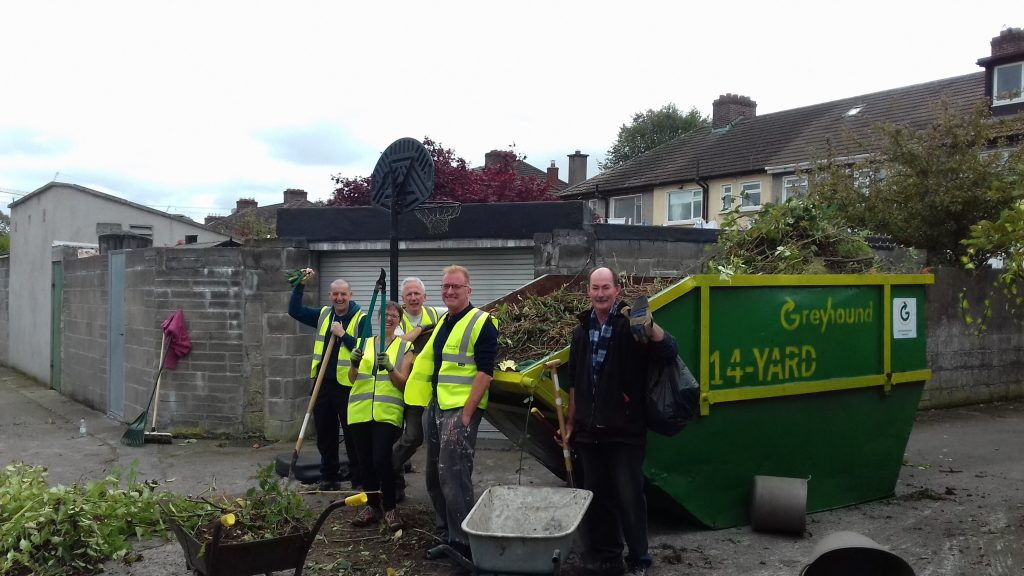 Artane Residents Clean Up, Sponsored Clean Up, Community, Greyhound in the Community