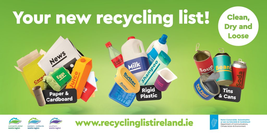 Tins & Cans, Recycling List Ireland - Paper & Cardboard