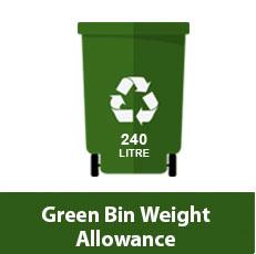 Bin Weight Allowance