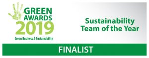 Greyhound Shortlisted for Sustainability Team of the Year at the Green Awards 2019