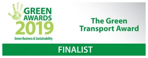 Greyhound shortlisted for The Green Transport Award of the Year at the Green Awards 2019