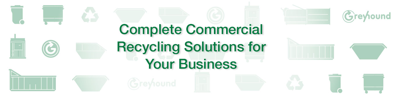 Greyhound Commercial Recycling Solutions for Businesses - Promo Banner