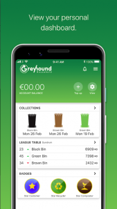 Screenshot of the app. Showing new features of the app.