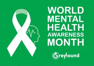 Mental Health Awareness Sticker on a Truck