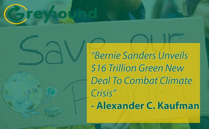 Bernie Sanders Unveils $16 Trillion Green New Deal To Combat Climate Crisis