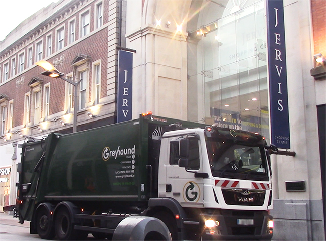 Greyhound are awarded the Jervis Shopping Centre waste contract