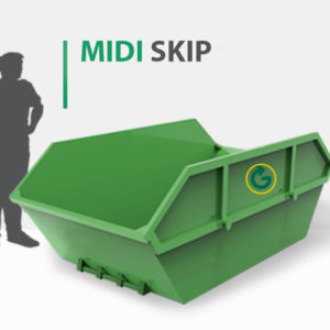MIDI SKIP, 4 cubic yard skip