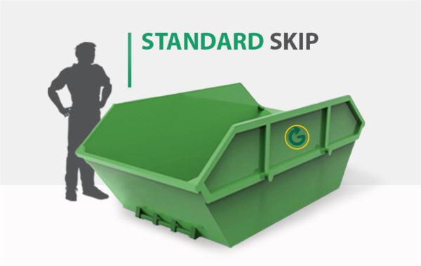 STANDARD SKIP, 6 cubic yard skip