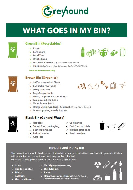 What Goes In My Bin