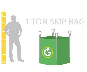 1 ton skip bag hire