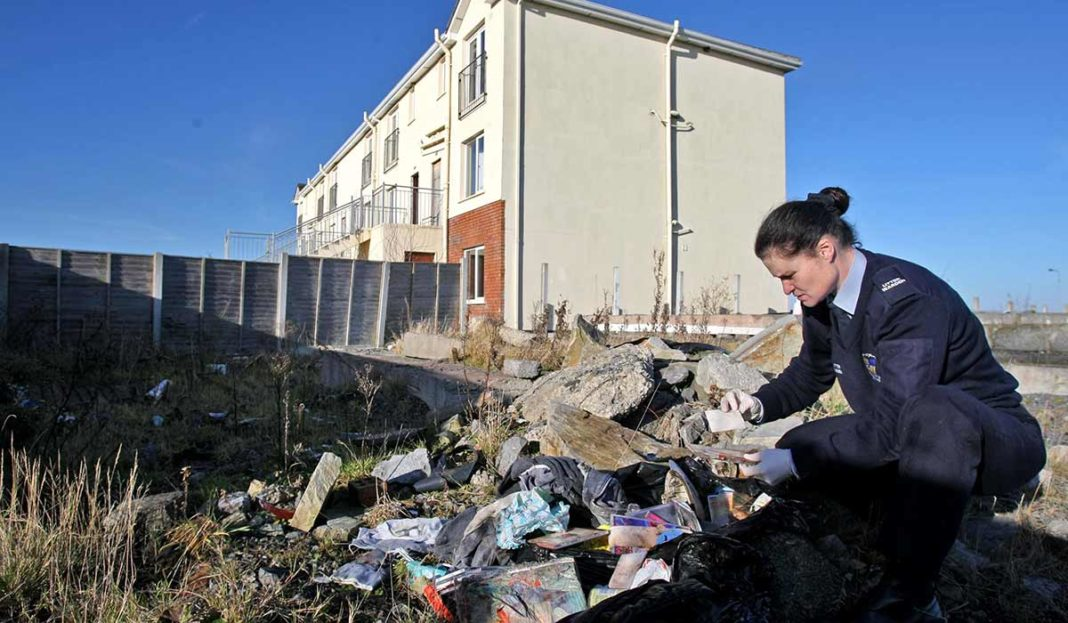 Big increase in illegal dumping as DCU appeals to public