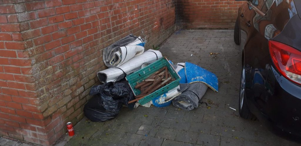 Increase in illegal dumping