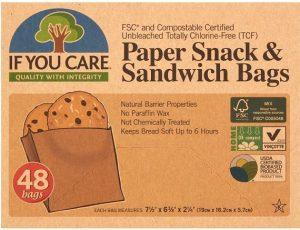 Compostable Paper Sandwich Bags