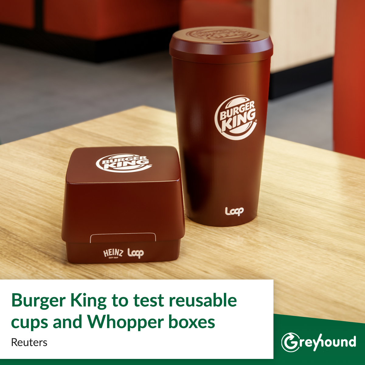 Burger King to test reusable cups and Whopper boxes