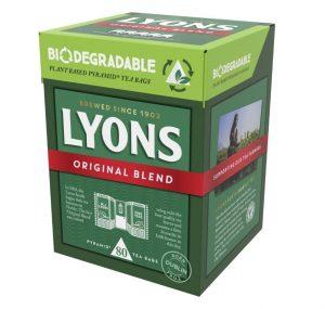 Lyons Tea Biodegradable Teabags