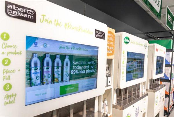Unilever's Refill Machines